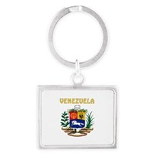 Venezuela Coat of arms Landscape Keychain