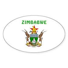 Zimbabwe Coat of arms Decal