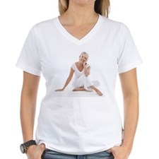 Happy senior woman - Shirt