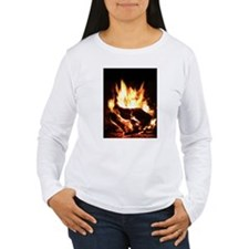 Fireplace Flames T-Shirt