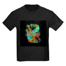 Galaxy formation - Kid's Dark T-Shirt