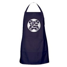 Shirakawa hawk feathers Apron (dark)