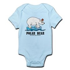 Cartoon Polar Bear by Lorenzo Body Suit