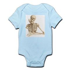 Skeleton Pal Onesie for Halloween