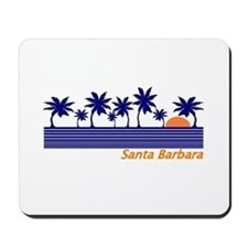 Unique Santa barbara california Mousepad
