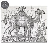 Urinating camel, 16th century artwork - Puzzle