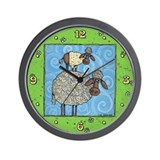 Sheep-stack Wall Clock