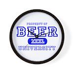 Beer University Bier Wall Clock