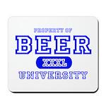 Beer University Bier Mousepad