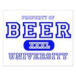 Beer University Bier Small Poster