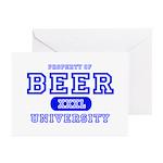 Beer University Bier Greeting Cards (Pk of 10)