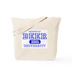 Beer University Bier Tote Bag