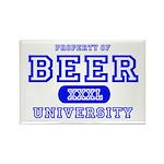Beer University Bier Rectangle Magnet
