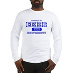 Beer University Bier Long Sleeve T-Shirt