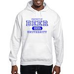 Beer University Bier Hooded Sweatshirt