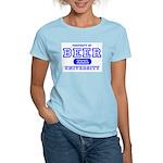 Beer University Bier Women's Pink T-Shirt