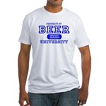 Beer University Bier Fitted T-Shirt