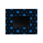 Blue Stars Pattern Picture Frame