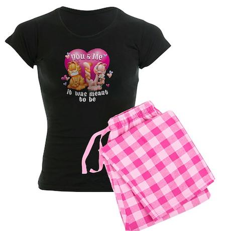 You and Me Women's Dark Pajamas