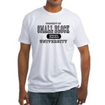 Small Block University Property Fitted T-Shirt