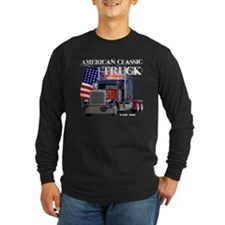 2-Am_Dark_Peterbilt_CP Long Sleeve T-Shirt