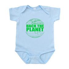 Hack The Planet Infant Bodysuit