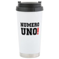 NUMERO UNO! Ceramic Travel Mug