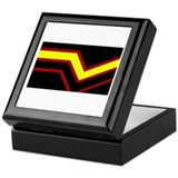 Rubber Pride Flag Keepsake Box