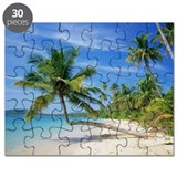 Tropical beach - Puzzle