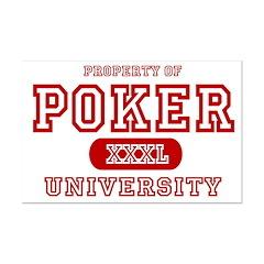 Poker University Property Posters