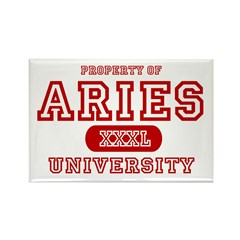 Aries University Property Rectangle Magnet (10 pac
