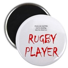Too Close Rugby Magnet