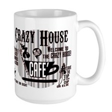 The CRAZY HOUSE CAFE Coffee mug in PAROLEE Mug