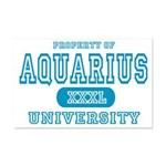 Aquarius University Property Mini Poster Print
