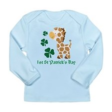 Personalized Irish Monkeys Long Sleeve Infant T-Sh