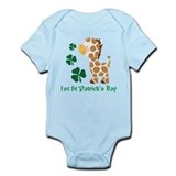 Personalized Irish Monkeys Infant Bodysuit