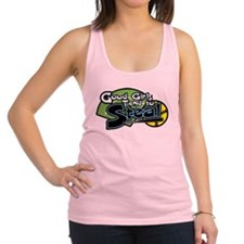 Softball Good Girls Steal Racerback Tank Top
