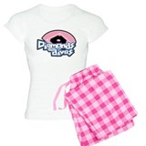 Softball Diamonds For Divas pajamas