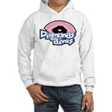 Softball Diamonds For Divas Jumper Hoody