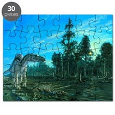 Artwork of a Maiasaura dinosaur - Puzzle