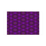 Purple and gold Stars Shower Curtain 35x21 Wall De