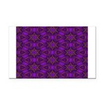 Purple and gold Stars Shower Curtain Rectangle Car