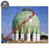 Oil refinery storage tank - Puzzle