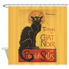 Steinlen Cat Shower Curtain