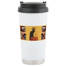 Steinlen and two Japanese Cats Ceramic Travel Mug