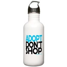Adopt Dont Shop Water Bottle