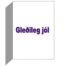 Package of siz Gledileg jól cards