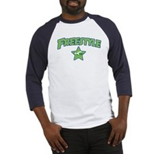 Swimming Freestyle Baseball Jersey