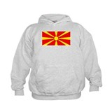 Macedonia Macedonian Flag Hoodie