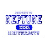 Neptune University Property Mini Poster Print